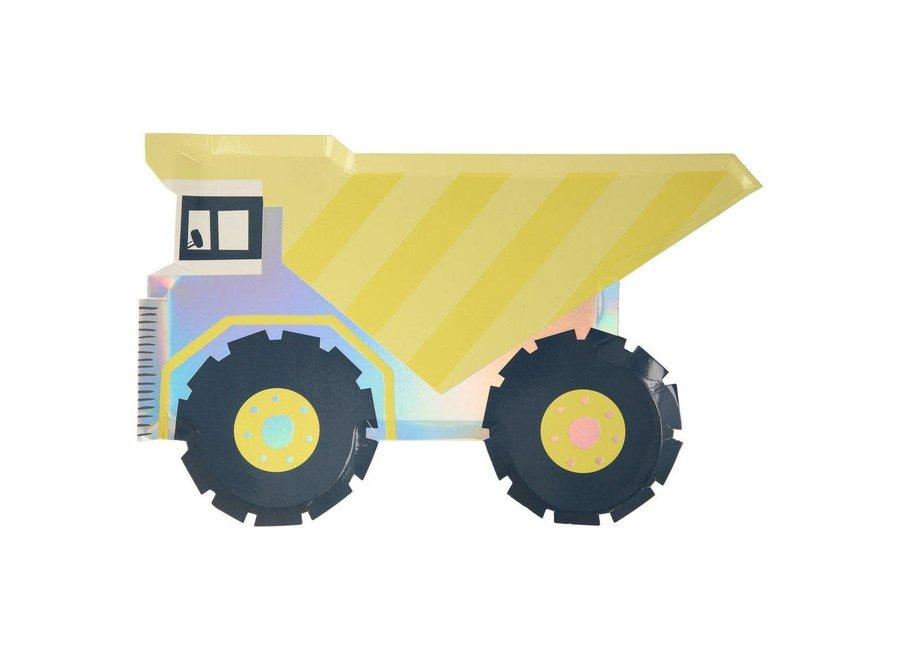 Meri Meri Dumper Truck Plates
