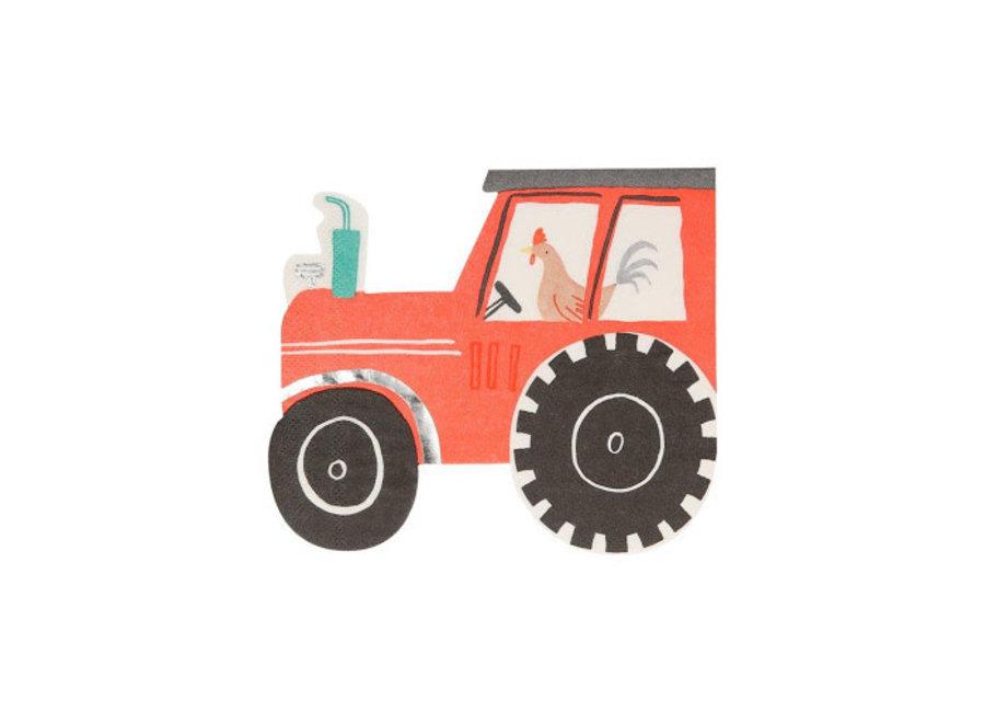 Tractor Napkins