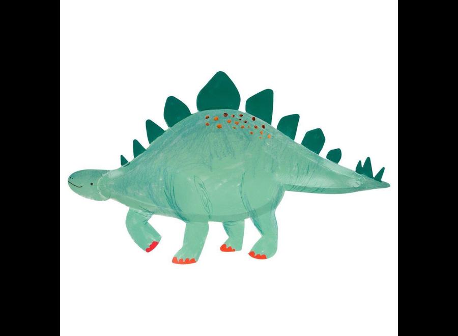 Meri Meri Stegosaurus Platters
