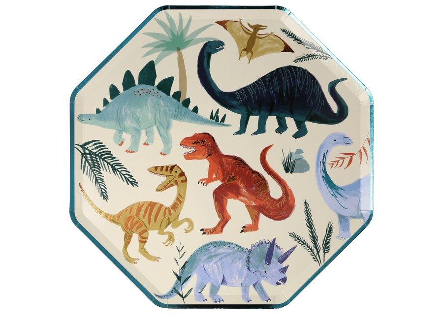 Meri Meri Dinosaur Kingdom Dinner Plates