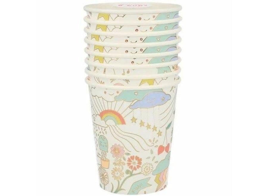 Meri Meri Happy Doodle Cups