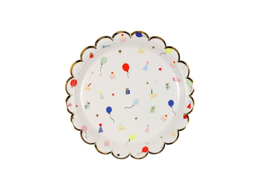 Meri Meri Party Icons Plates L