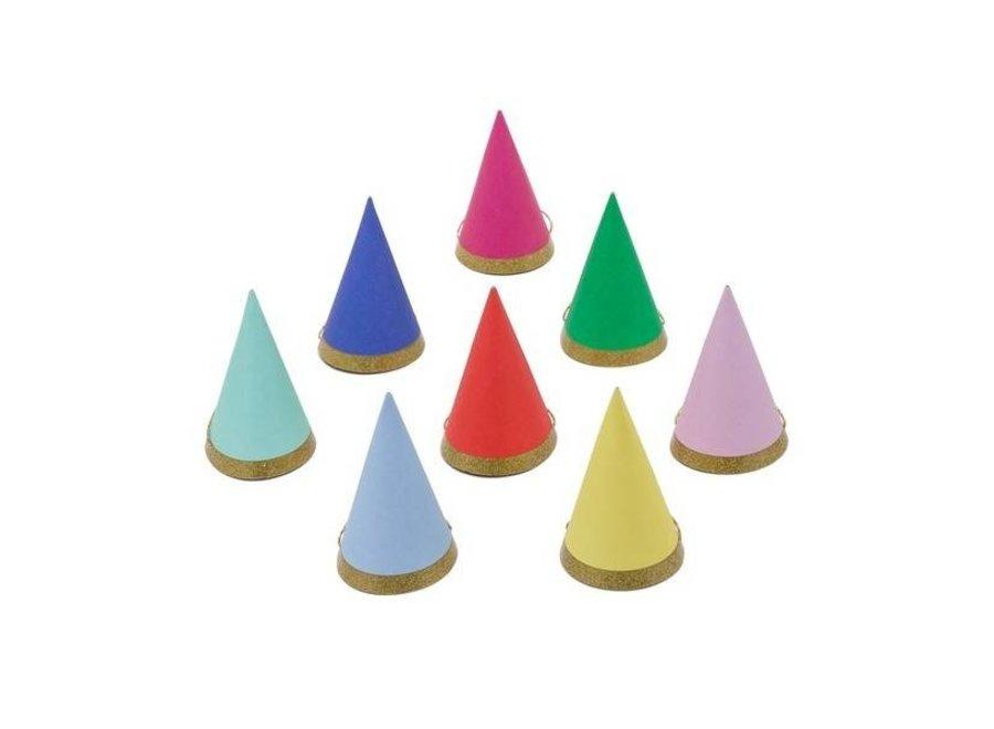 Meri Meri Bright Mini Party Hats