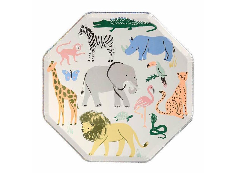 Safari Animals Dinner Plates