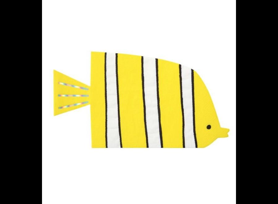 Meri Meri Under Sea Fish Napkins