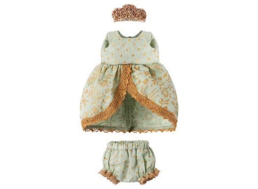 Micro & Mouse Princess Dress Mint