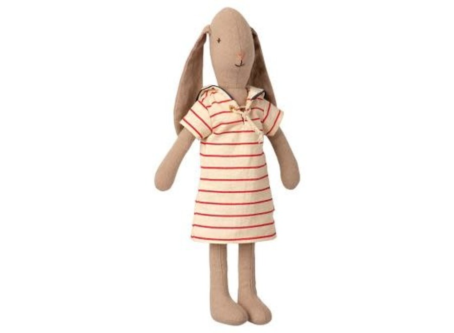 Maileg Bunny Size 2 Striped Dress