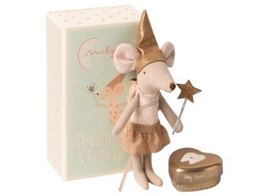 Maileg Tooth Fairy In Matchbox, Big Sister