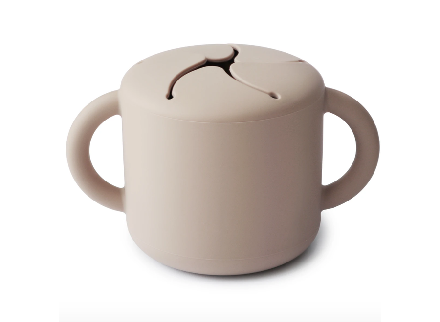 Mushie Snack Cup Shifting Sand