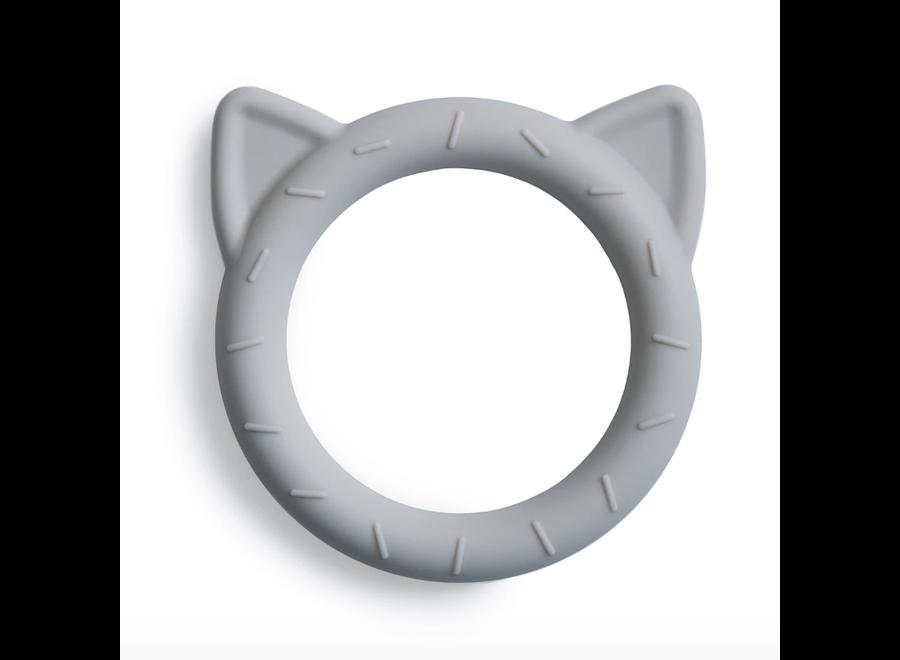 Mushie Teether Cat Stone