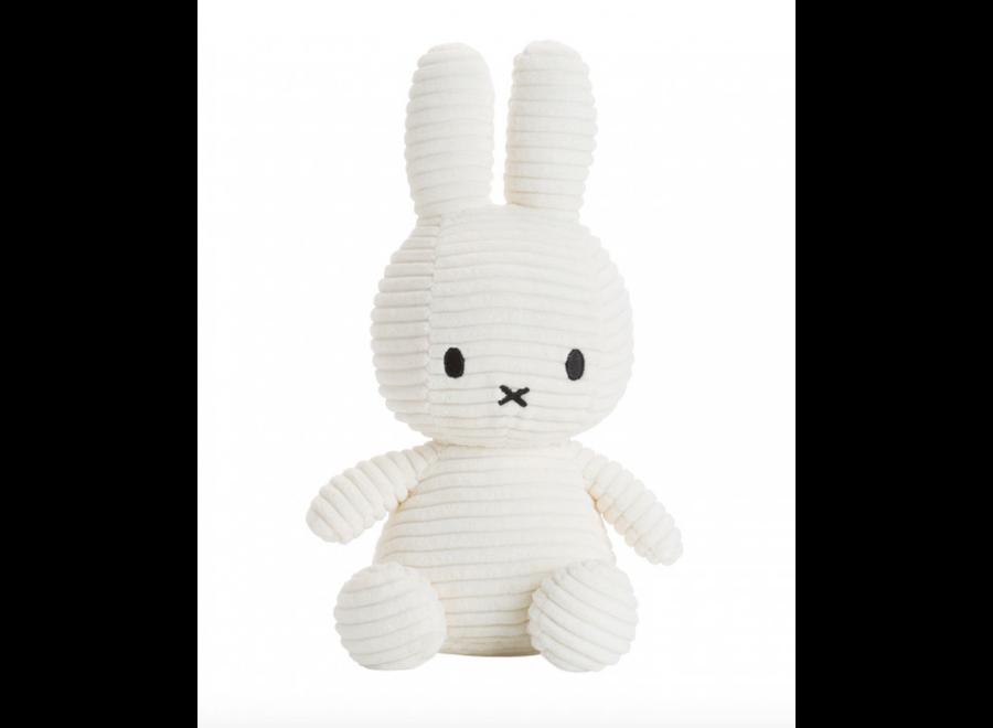 Miffy Corduroy White 24 cm