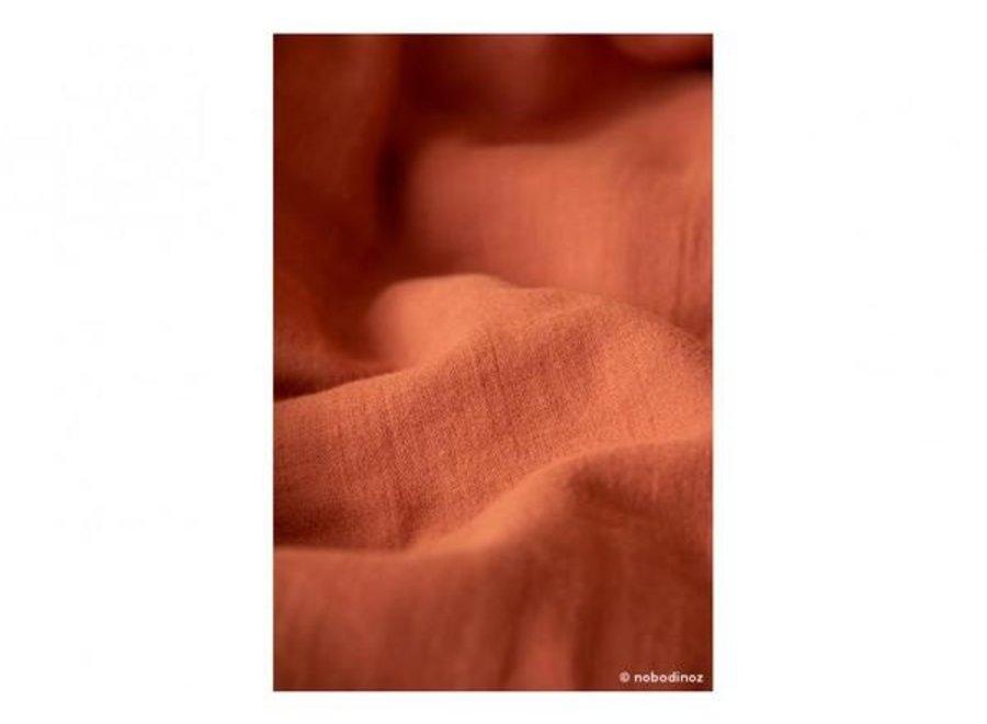 Nobodinoz Treasure Summer Blanket Toffee