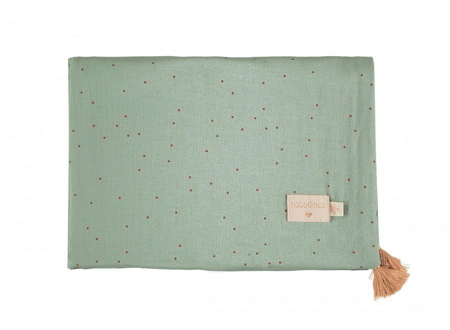 Nobodinoz Treasure Summer Blanket Toffee Sweet Dots