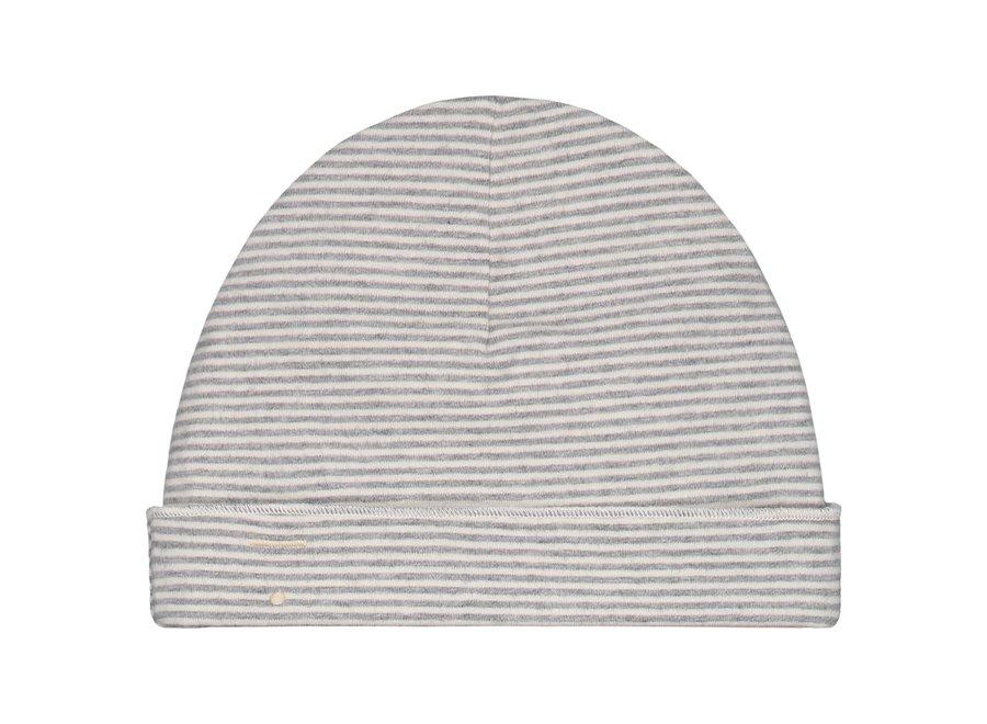Gray Label Baby Beanie Grey Melange/Cream