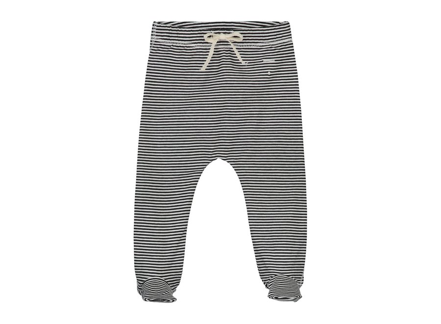 Gray Label Baby Footies Nearly Black/Cream