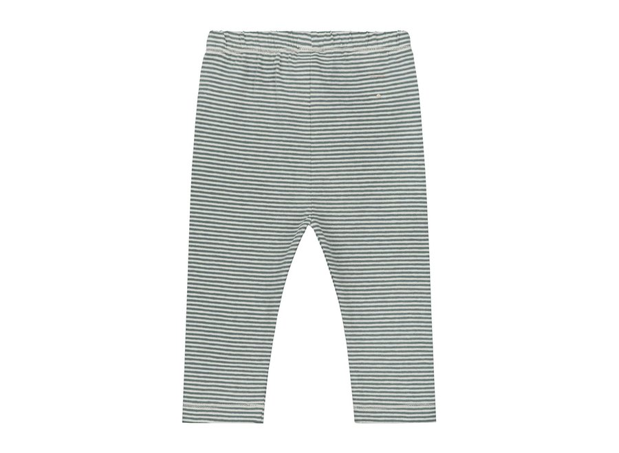 Baby Leggings Blue Grey/Cream