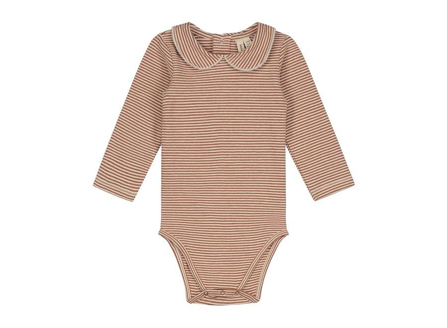 Baby Collar Onesie Autumn Cream