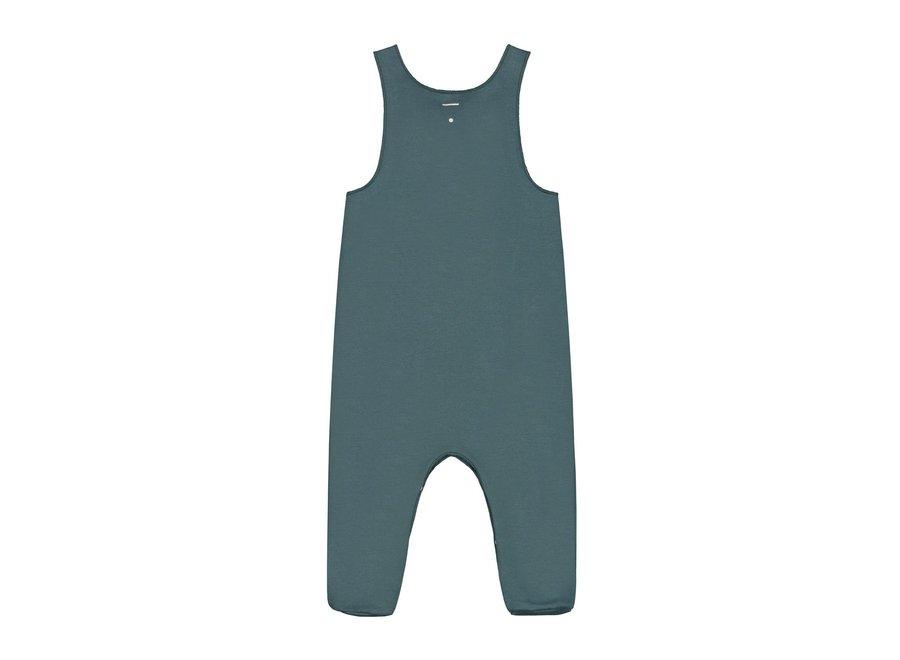 Gray Label Baby Sleeveless Suit Blue Grey