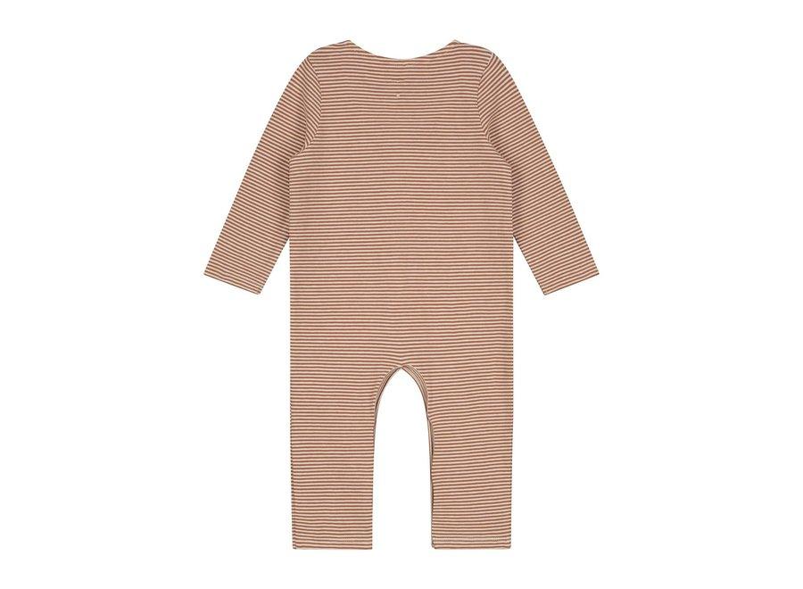 Gray Label Baby L/S Playsuit Autumn/Cream