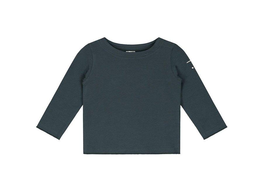 Gray Label Baby LS Tee Blue Grey