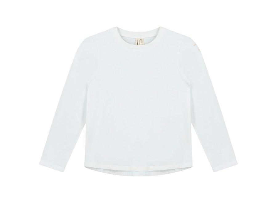 Gray Label LS Tee White