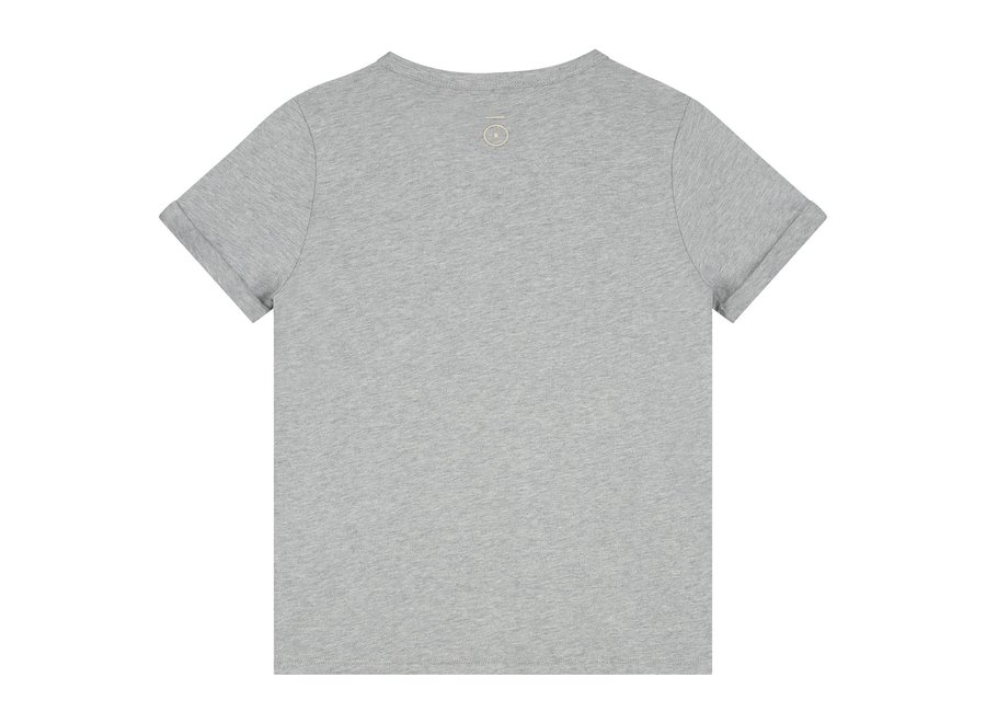 Gray Label SS Pocket Tee Grey Melange