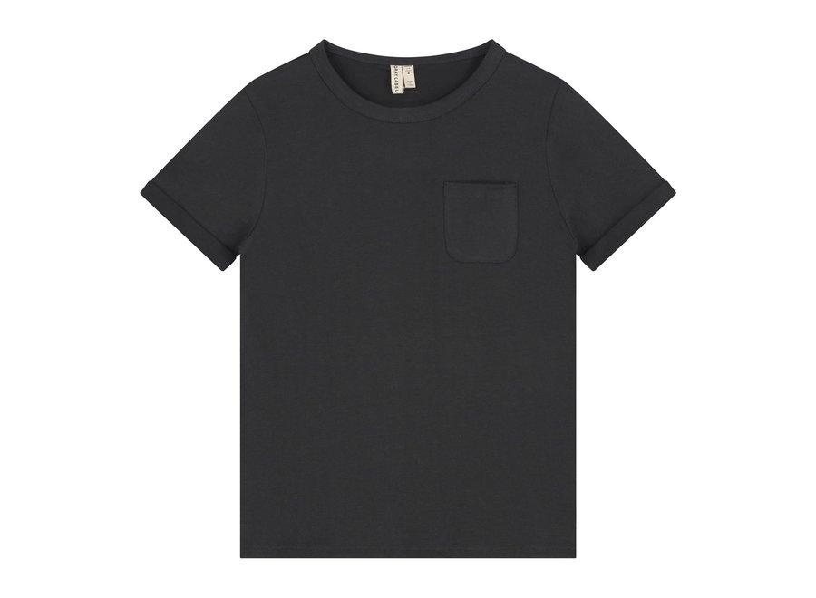 Gray Label SS Pocket Tee Nearly Black
