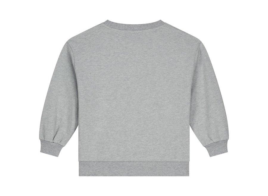 Gray Label Dropped Shoulder Sweater Grey Melange