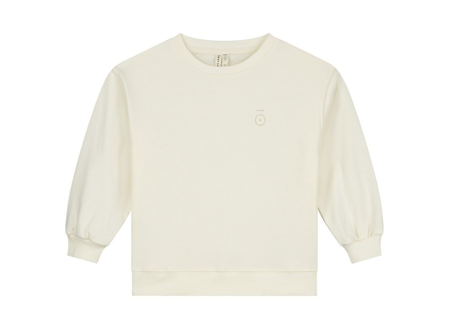 Dropped Shoulder Sweater Cream