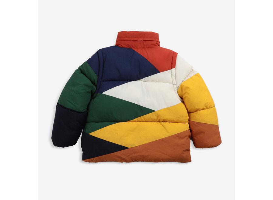 Bobo Choses Padded Jacket Multi Color Block