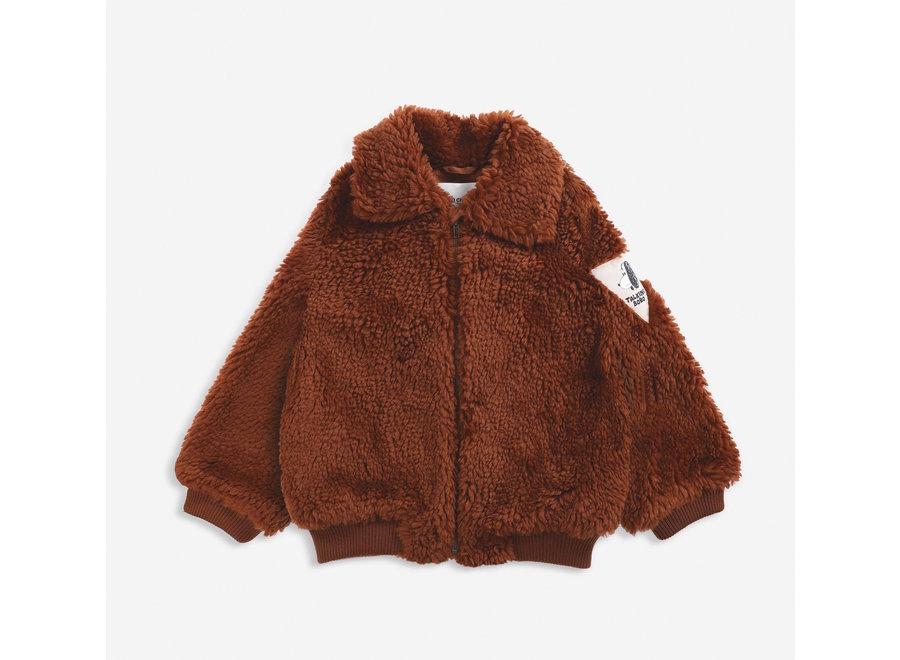 Jacket Sheepskin Doggie Patch