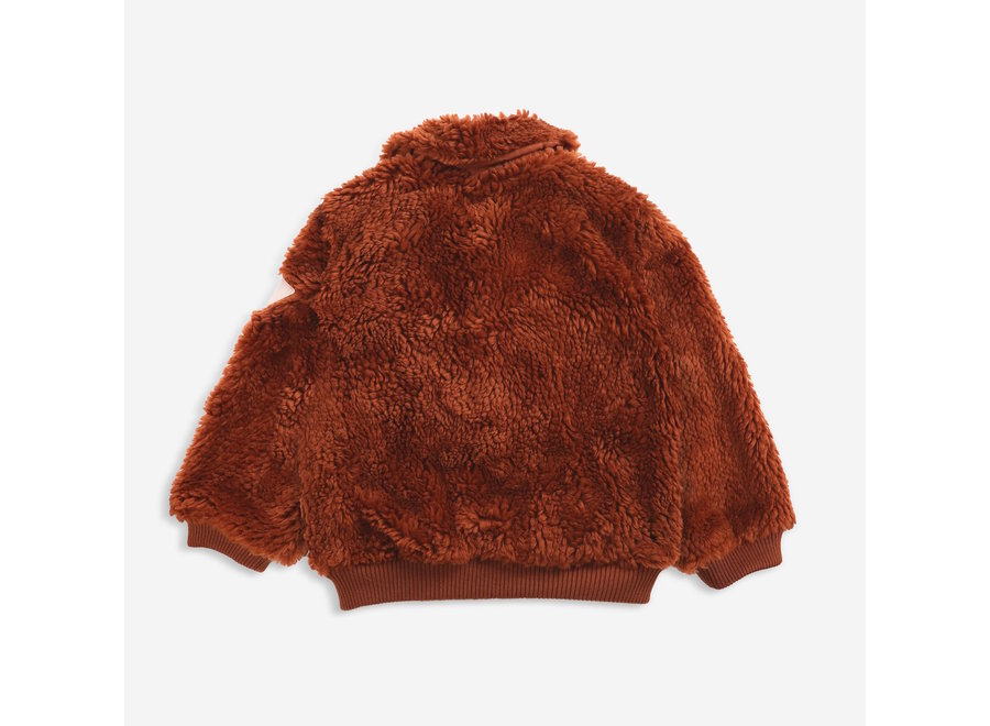 Bobo Choses Jacket Sheepskin Doggie Patch