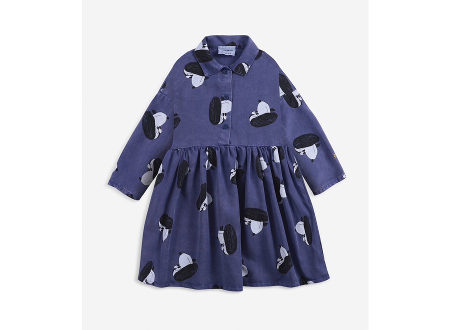 Dress Doggie All Over Buttoned