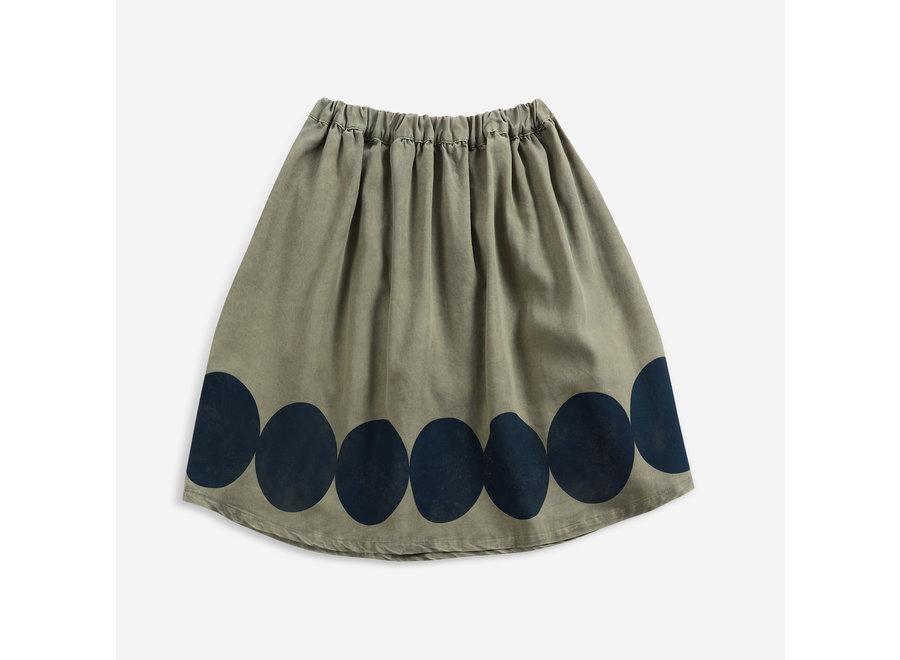 Midi Skirt Ovals Woven