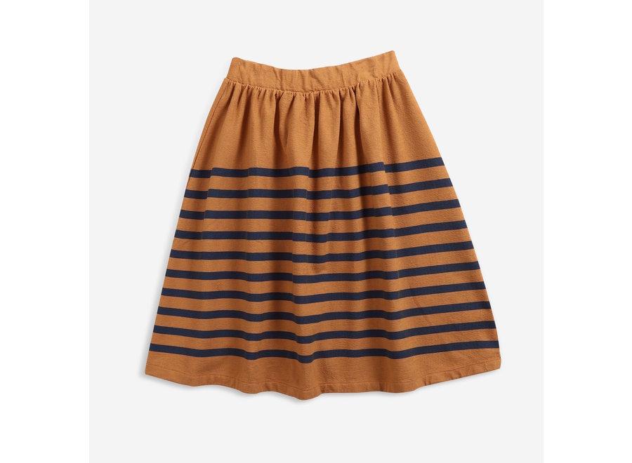 Midi Skirt Striped