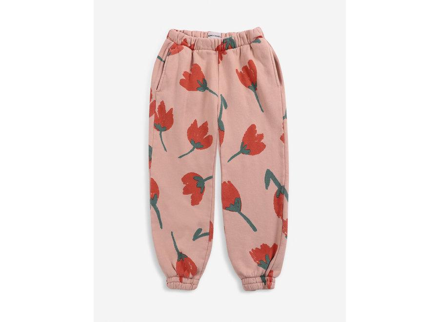 Jogging Pants Big Flowers