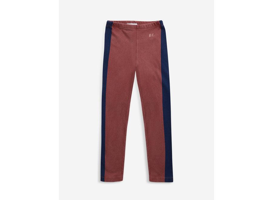 Bobo Choses Leggings Blue Stripes