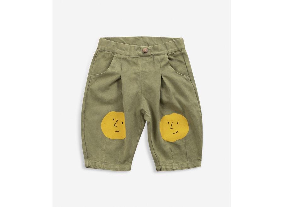 Bobo Choses Woven Pants Faces