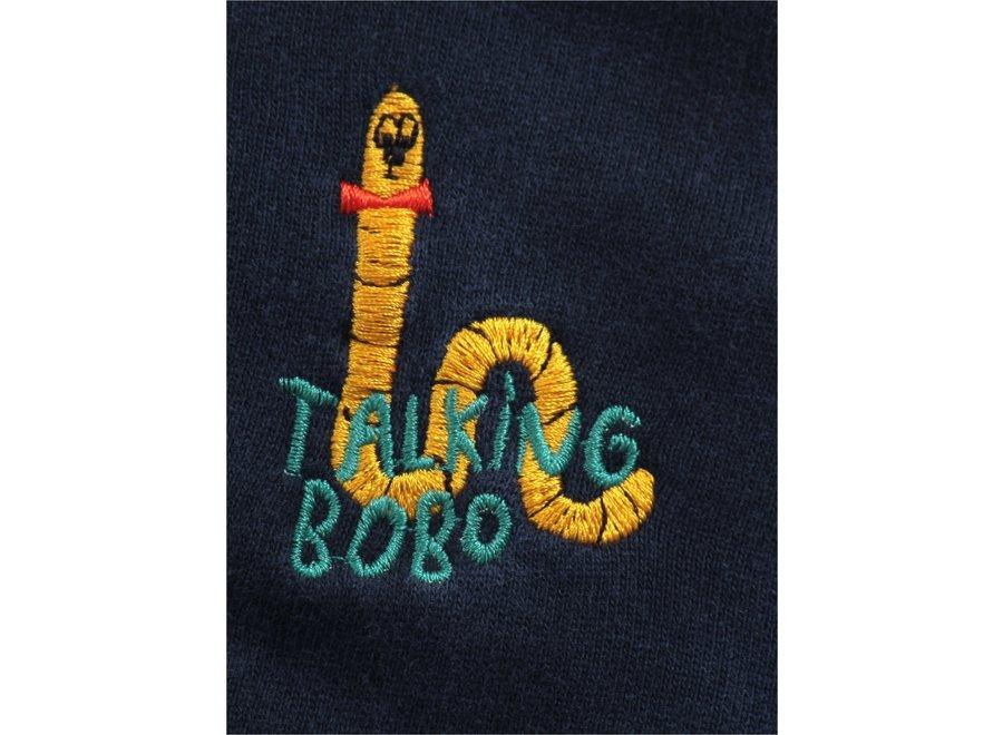 Bobo Choses Hoodie Scholar Worm Zipped