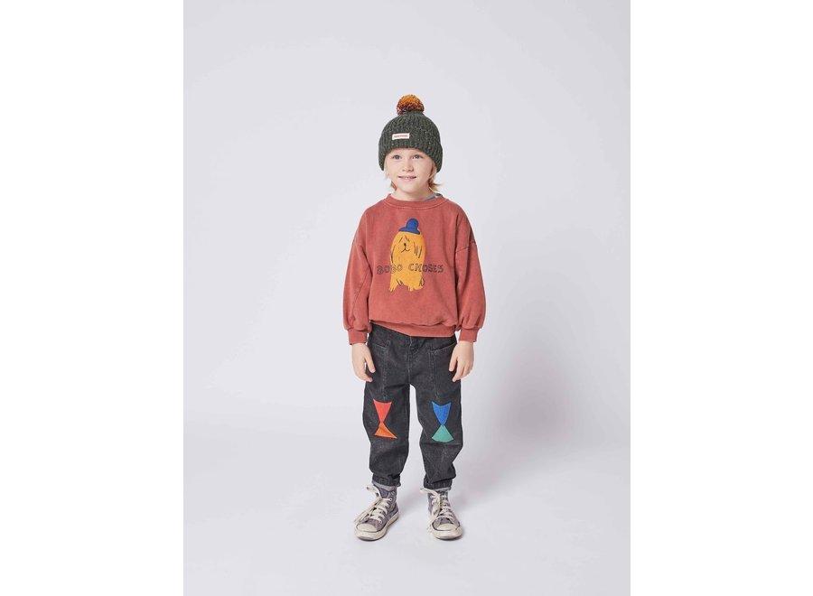 Bobo Choses Sweatshirt Dog In The Hat