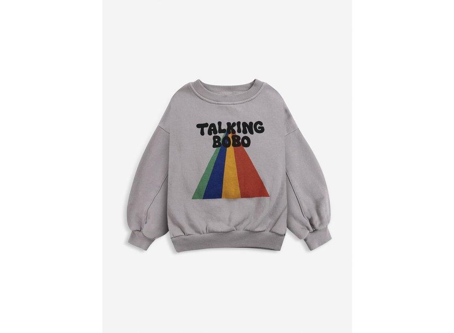 Sweatshirt Talking Bobo Rainbow
