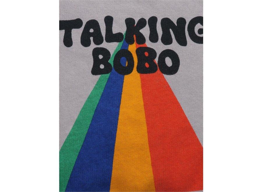 Bobo Choses Sweatshirt Talking Bobo Rainbow