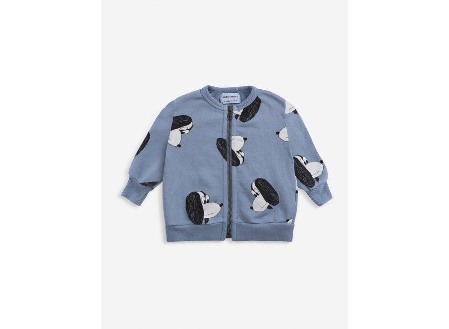 Sweatshirt Doggie Zipped