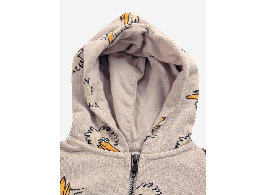 Bobo Choses Hoodie Birdie Zipped