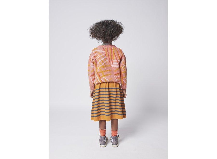 Bobo Choses Midi Skirt Striped