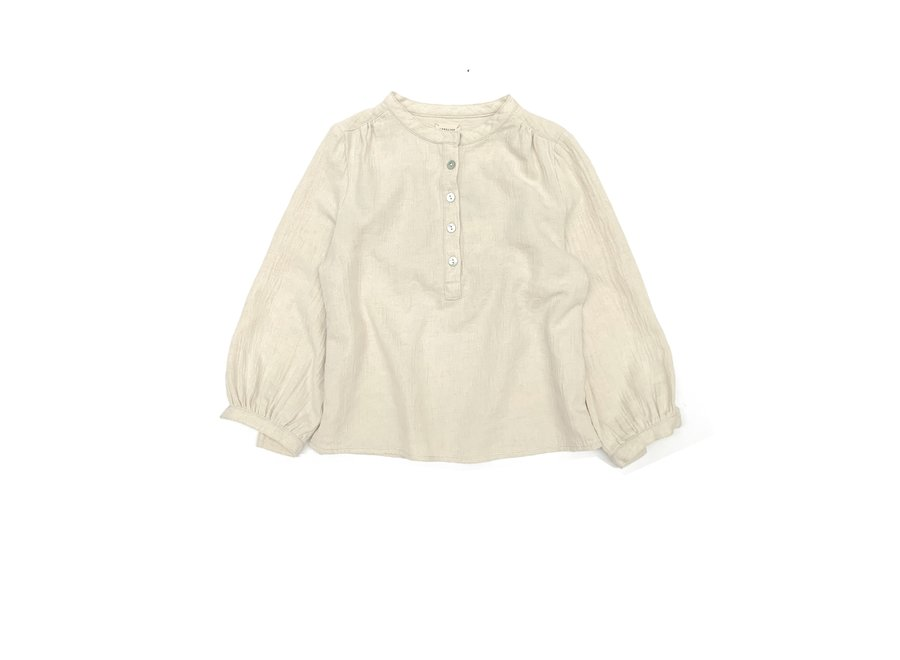 Long Live The Queen Blouse Sand