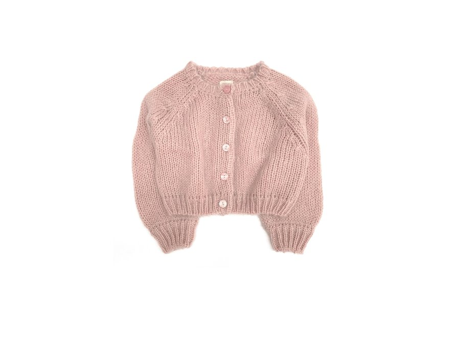 Long Live The Queen Cardigan Old Rose