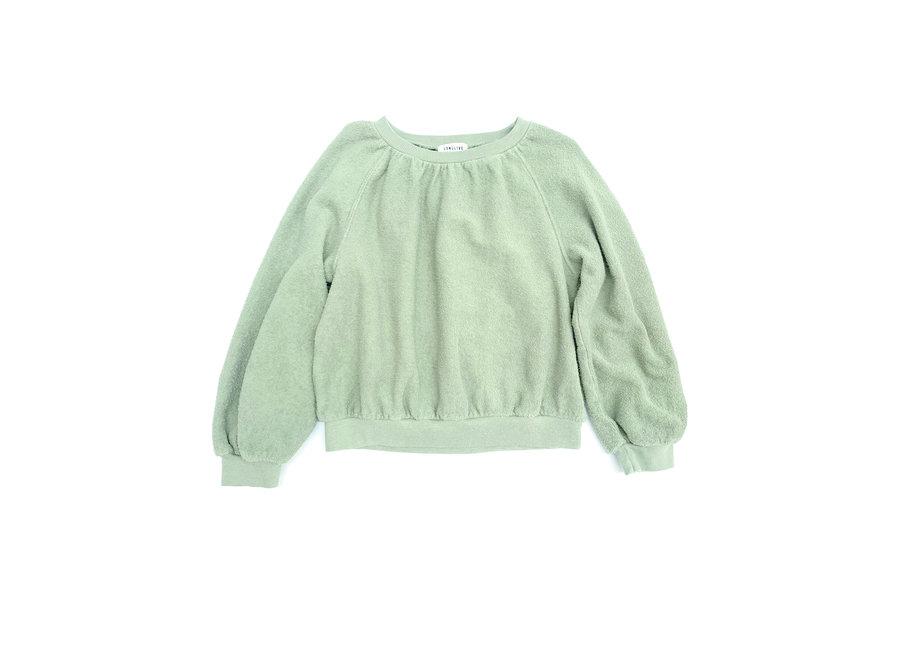 Terry Sweater Green Tea