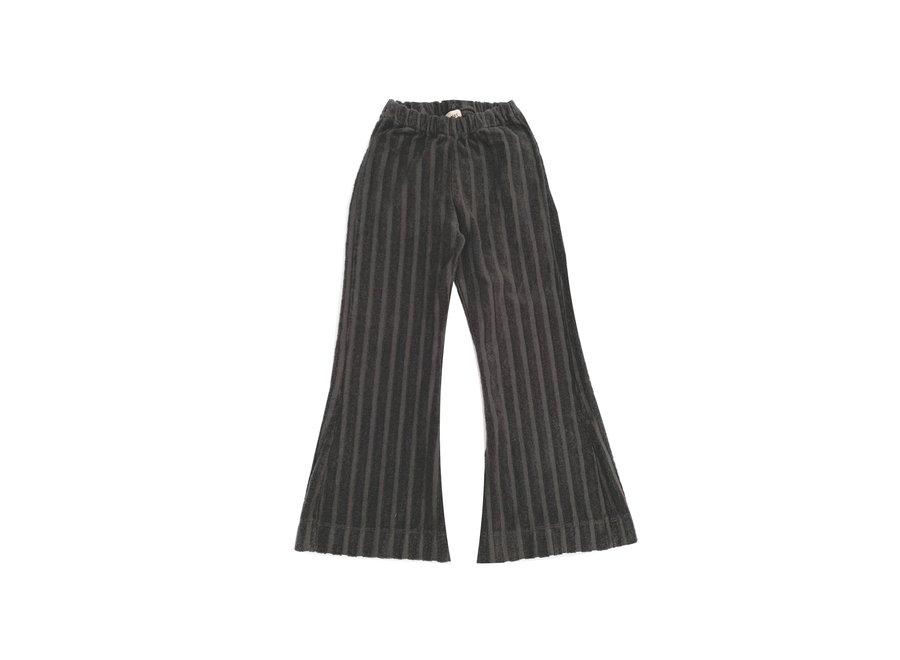 Rib Velvet Pants Iron