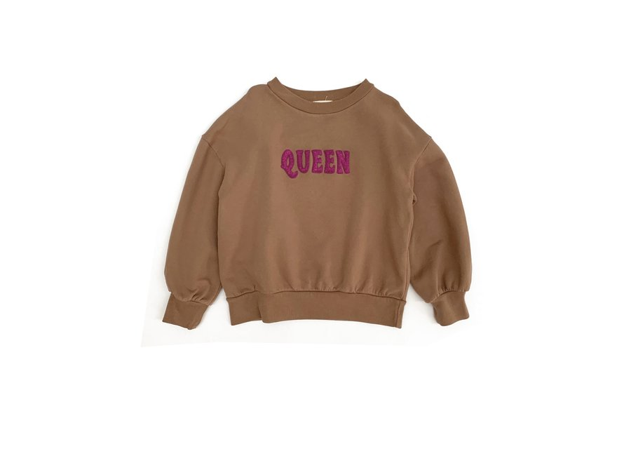Long Live The Queen Sweater Coconut